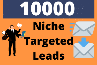 10000 Niche Targeted Email Leads For your business