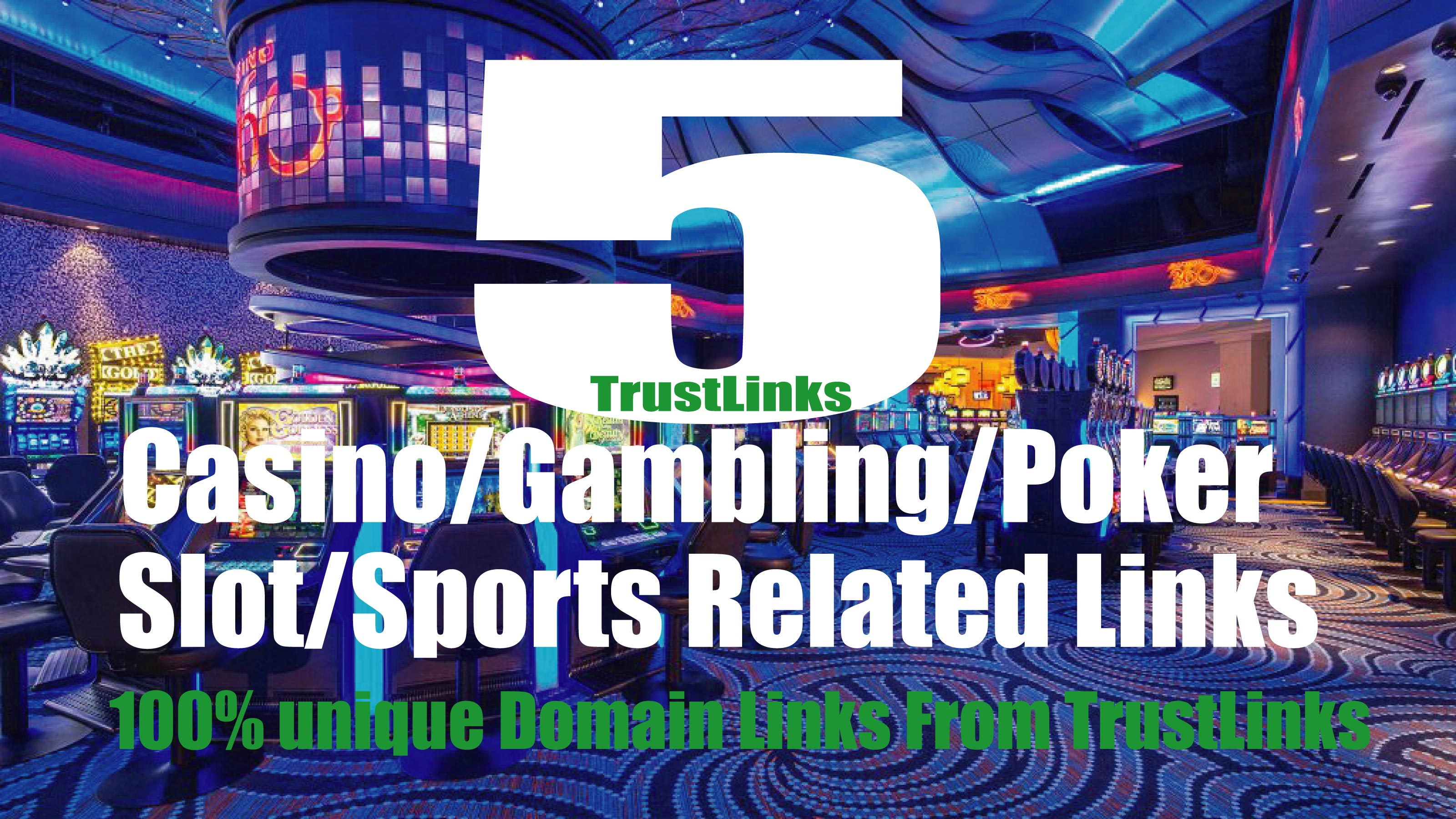 5 PBN Links Casino/Gambling/Poker sites From Top Casino site