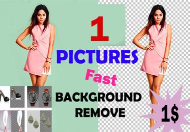 Remove background image super fast Professionally