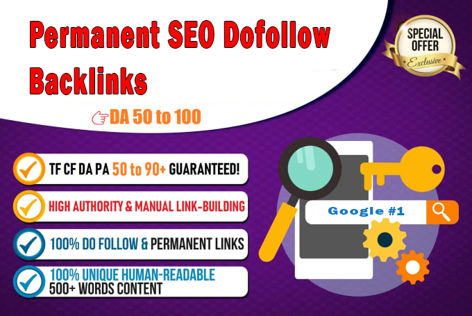 Ranking your website with powerful permanent dofollow SEO backlinks