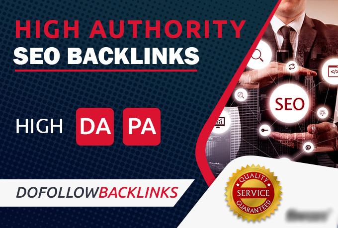 High Authority 500+ Do-follow back-link rank for google