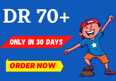 Increase Your website Ahrefs DR Domain Rating 40 plus in 30 days