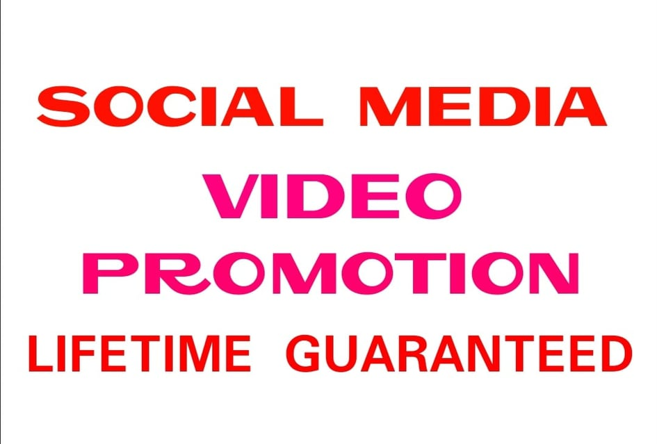 Provide social media video promotion instantly