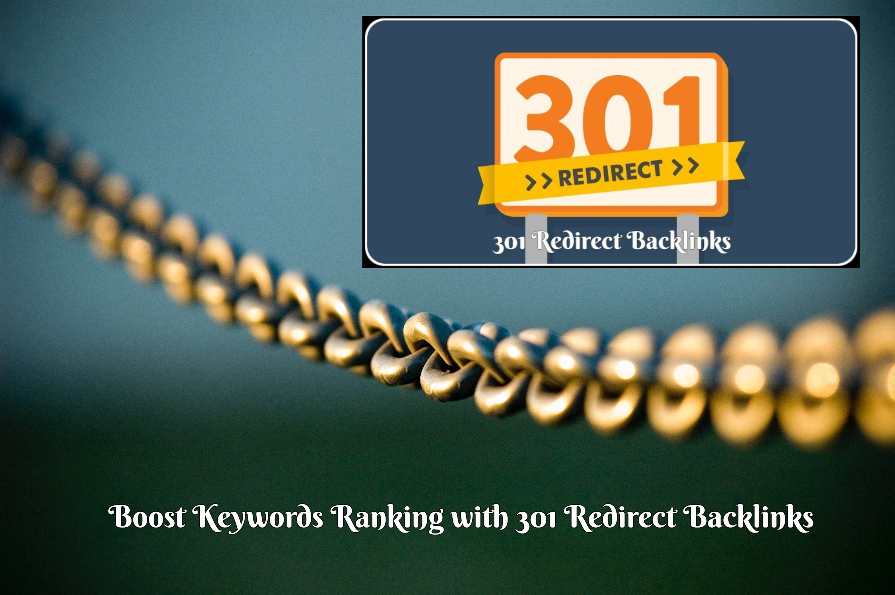 Provide 100 x 301 Redirect Backlinks to Improve Searc...