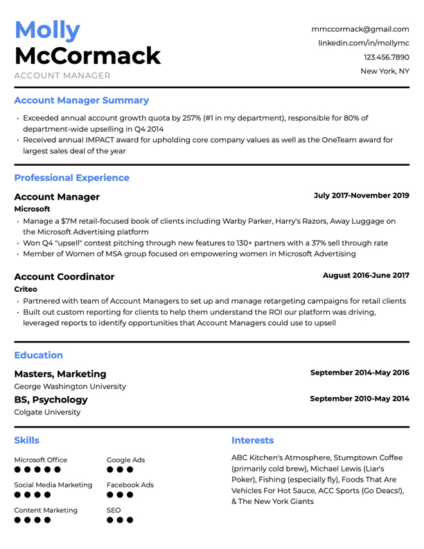 Creative Design Resume PDF Professional Writing for Jobs