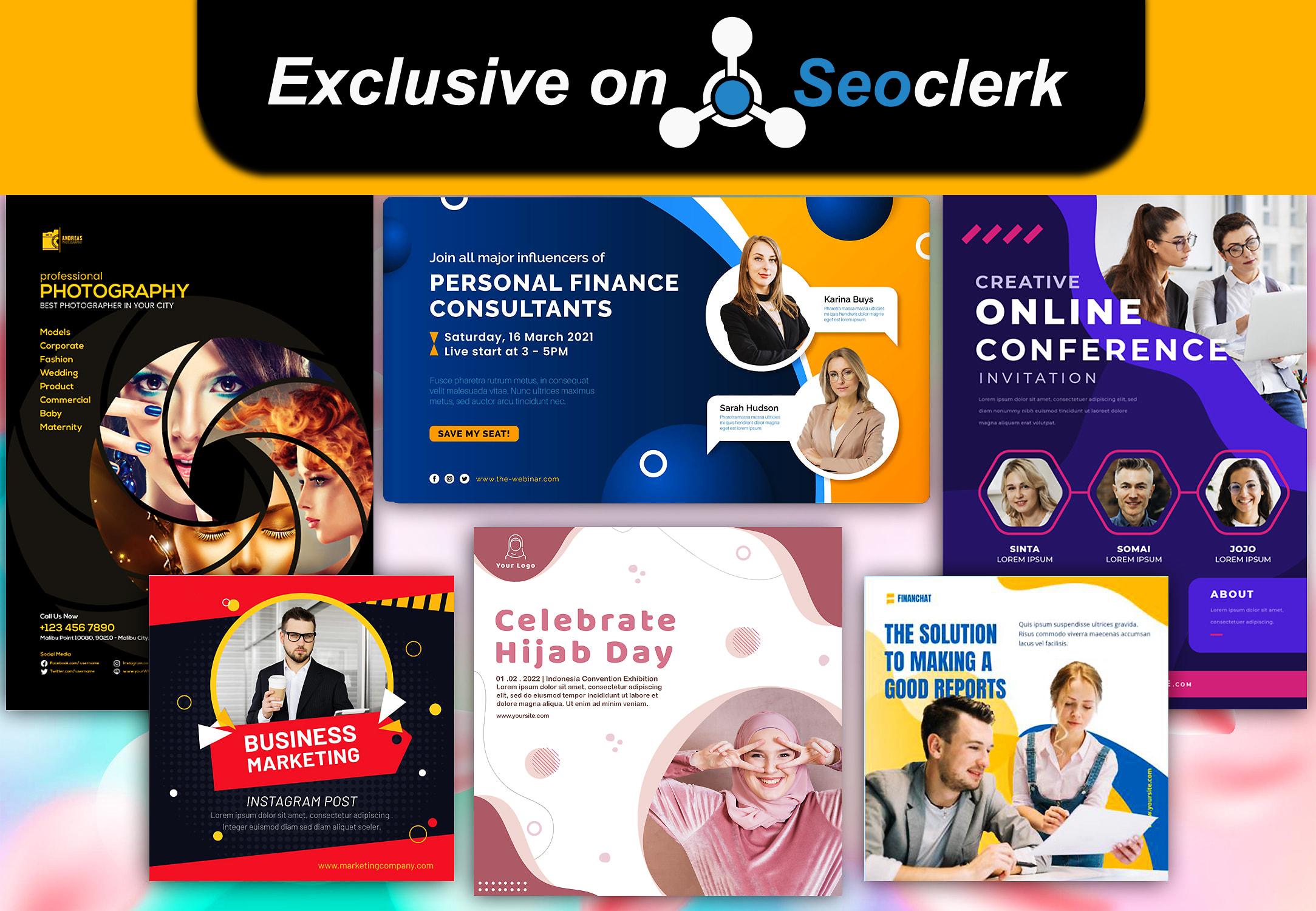 I will design professional flyer/poster/brochure or social media ad