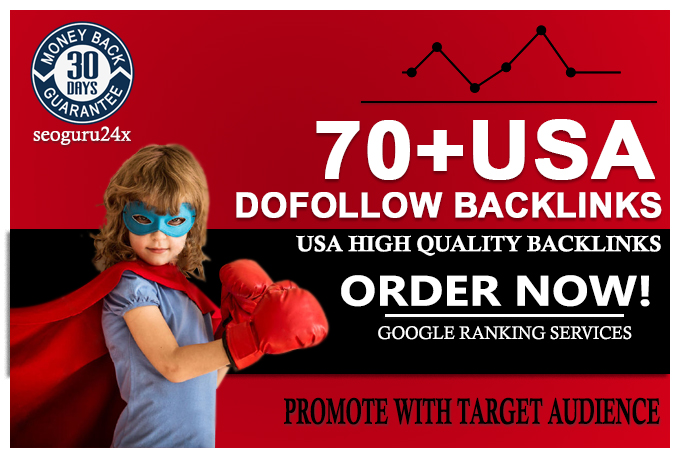 Give you 70 USA Dofollow High DA PA Profile Backlinks