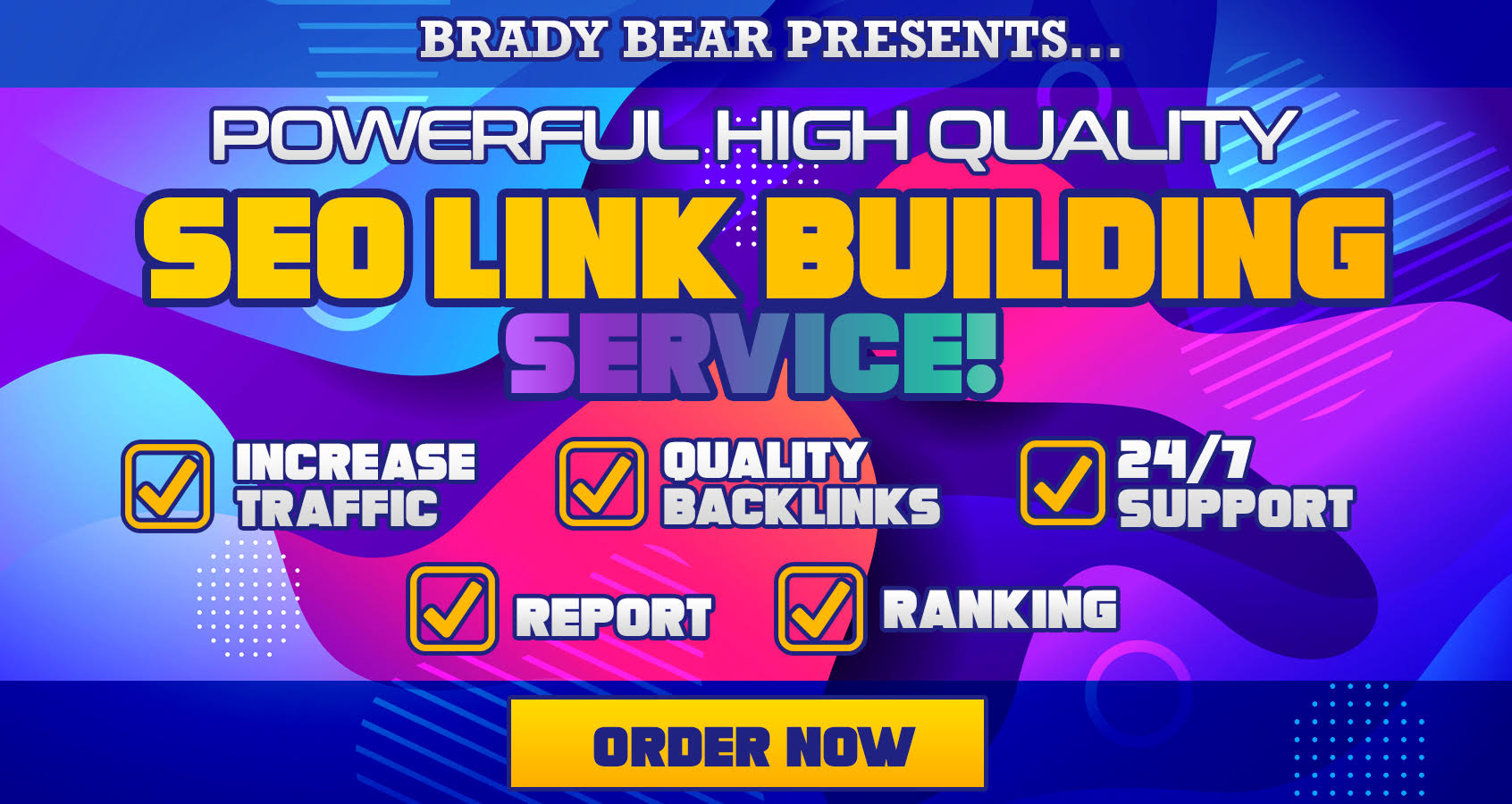 Powerful Quality SEO Link Building Service for Top Ranking