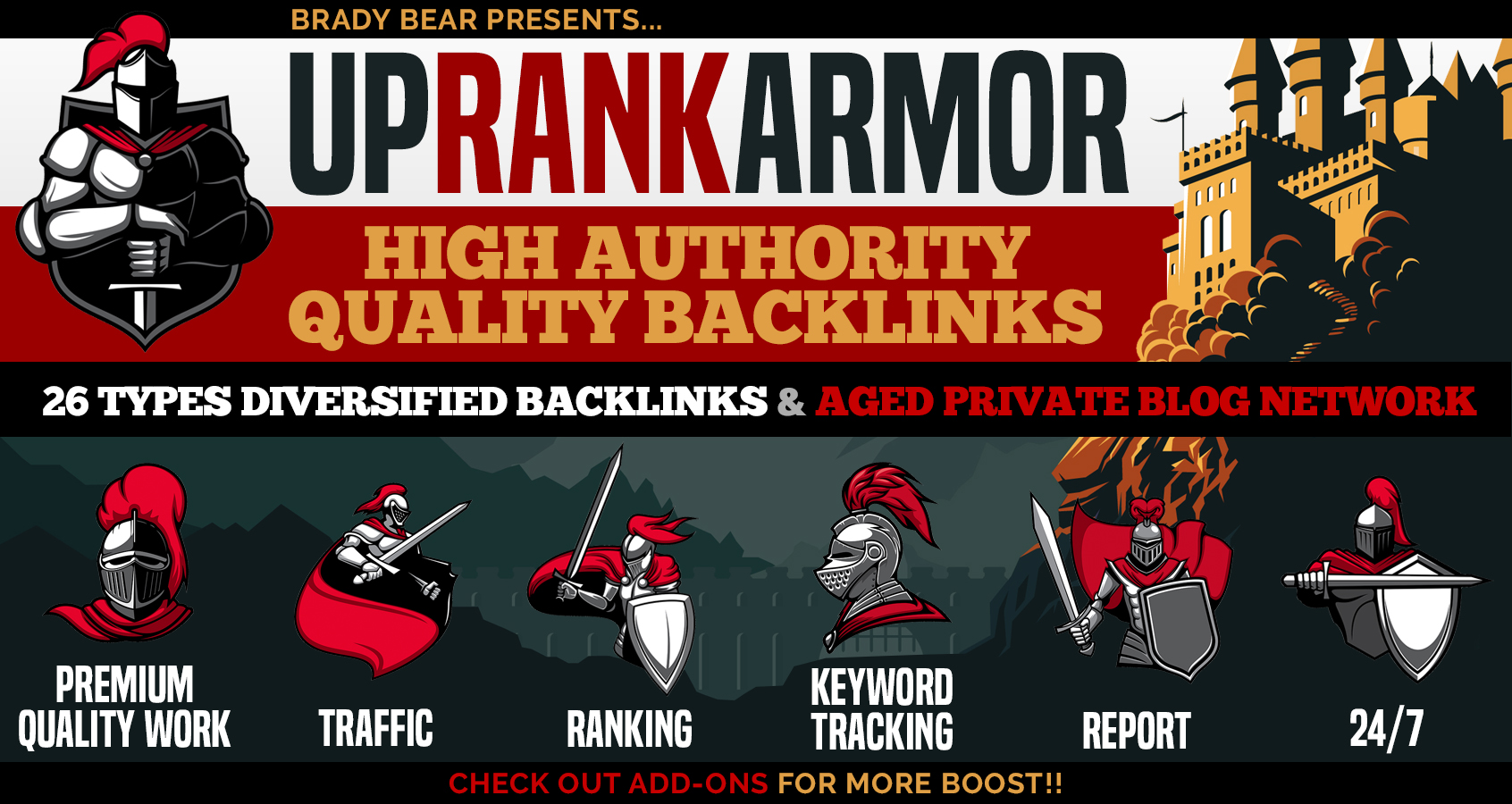UpRank Armor Complete Package - Skyrocket your website on 1st page of google with Best SEO Package