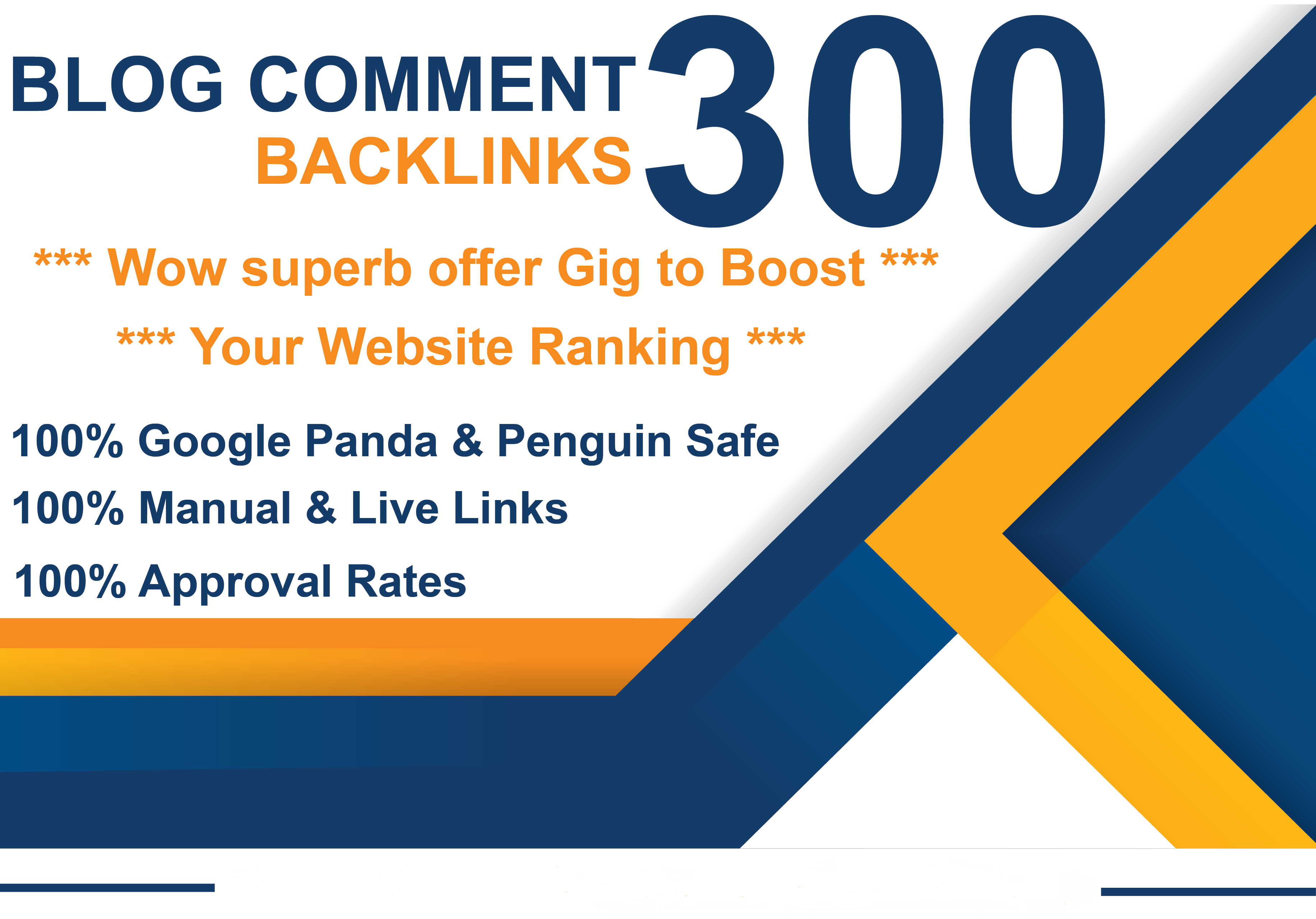 I Will Create 300 Blog Comment High quality backlinks