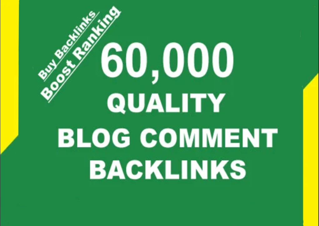 I will build 60,000 verified blog comment backlinks For google ranking