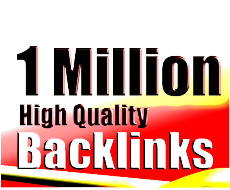 I will create 1 million tier backlinks for push your google rank