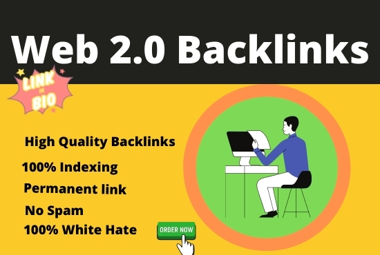 I can create 50+ Powerful web 2.0 Manual High DA & PA Backlinks For Your Website