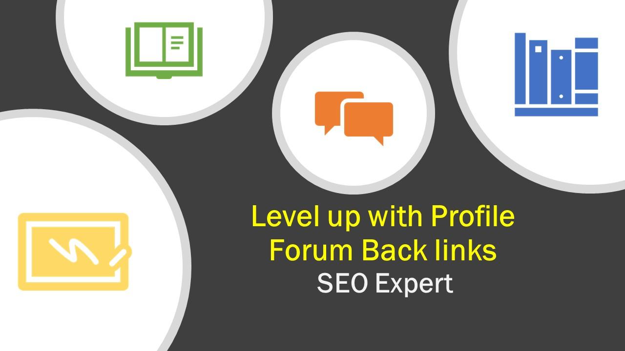 I can do 35 Manually Profile forum