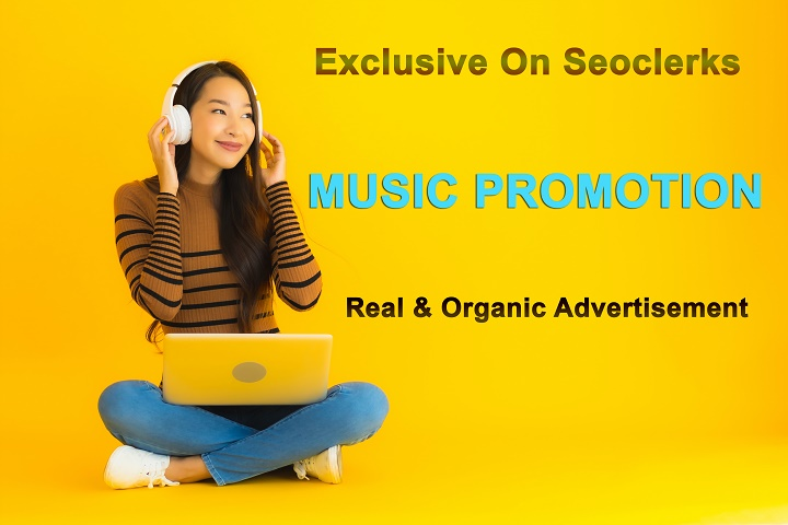 Get Instant Real Music Promotion