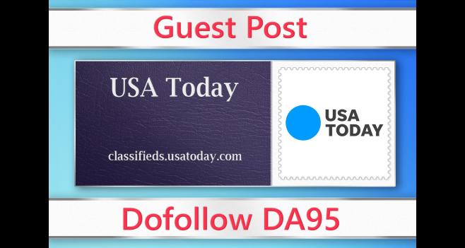 Guest post on USA Today - classifieds. usatoday. com - DA95