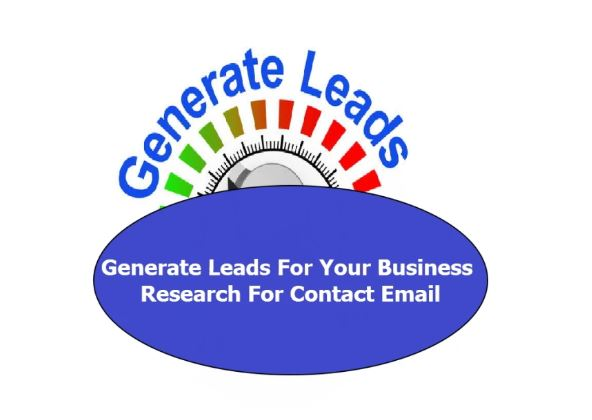 Generate Leads For Your Business Research For Contact Email