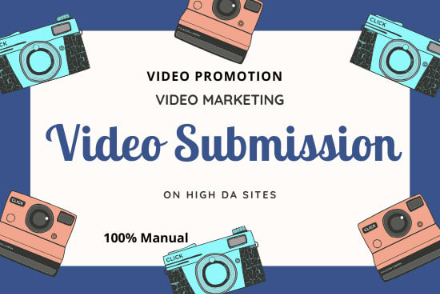 Manual Submission Of Video On 60 Top Sharing Sites