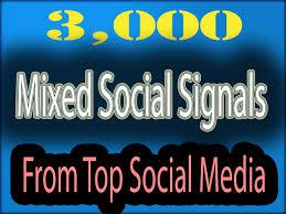 3000 website mixed SEO social signals