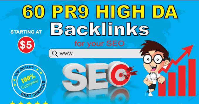 AdvanceSEO 60 Backlinks 40 PR9 with 20 Edu Gov Backlinks for Better SEO Rank