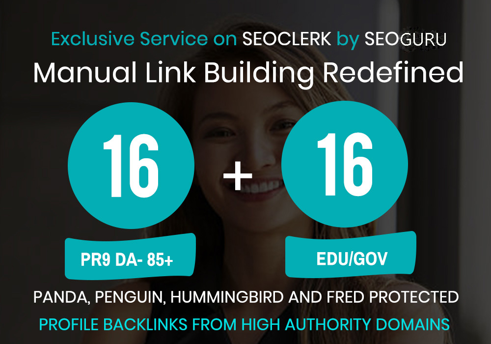 16 Pr9 + 16 Edu - Gov High Pr SEO Authority Backlinks - Fire Your Google Ranking