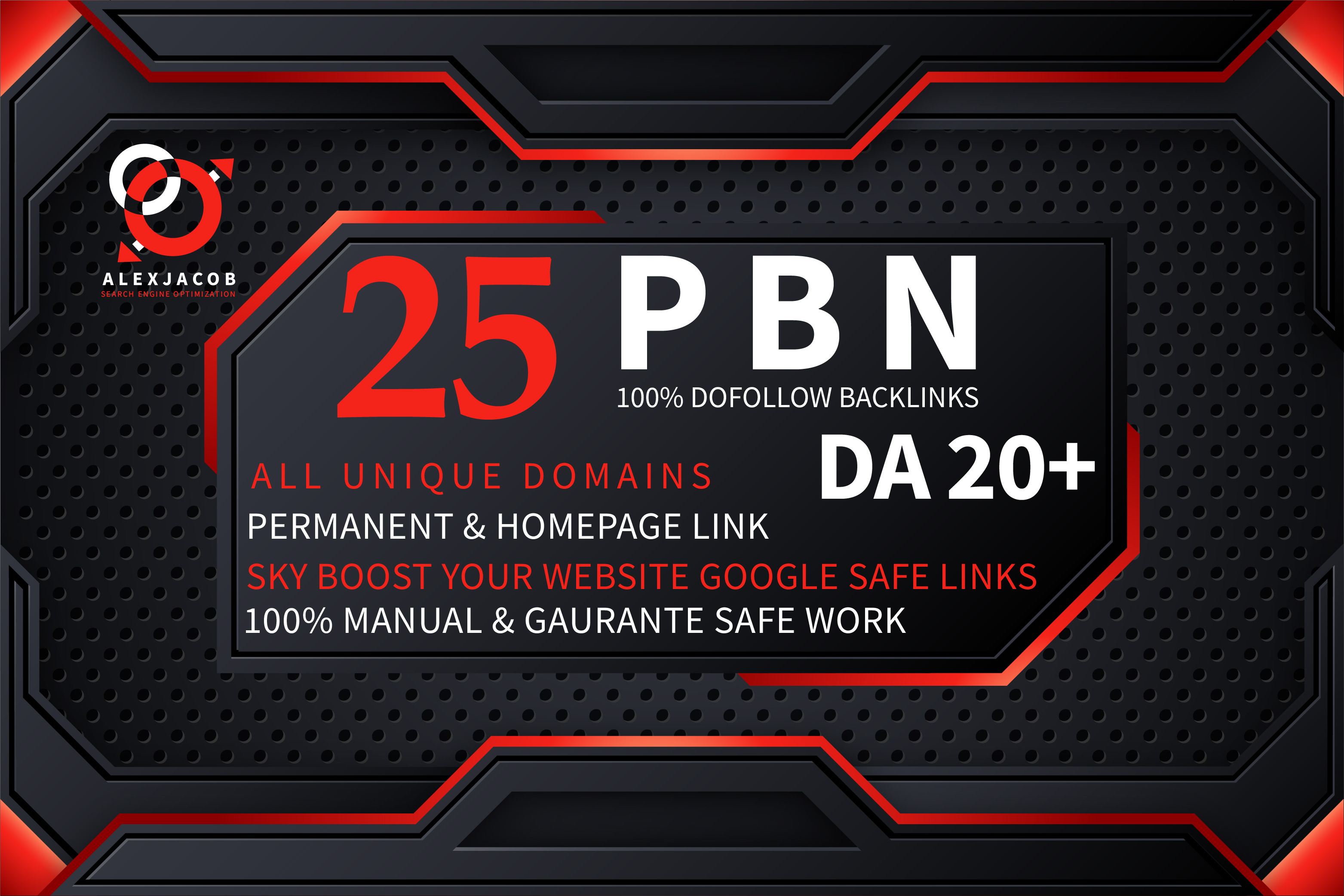Create Premium 25 High DA PBN Backlinks Dofollow Permanent Boost your website Ranking