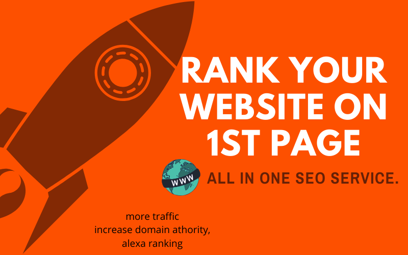 All IN One 30 Days SEO Service,  High Quality Backlinks,  Push Website on top 10