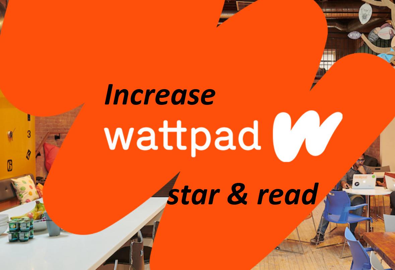 promote 100 wattpad star in 1 hours