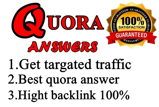 Give you 15 Quora Answer for getting huge traffic