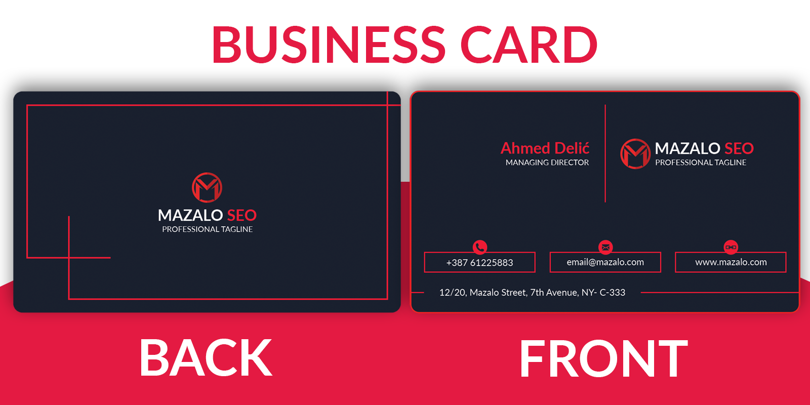 Special Offer - Minimal Business Card