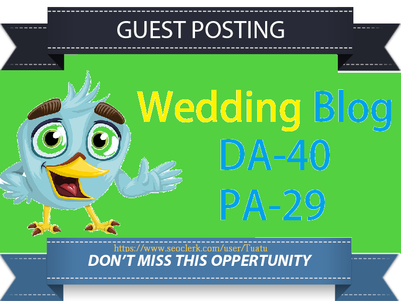 Guest Post On DA40 Wedding Blog