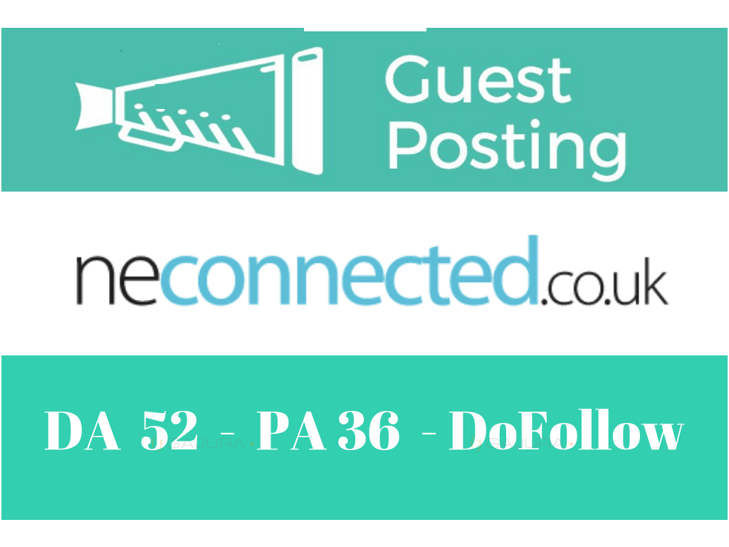 Guest Post On Neconnected. co. uk DA60+
