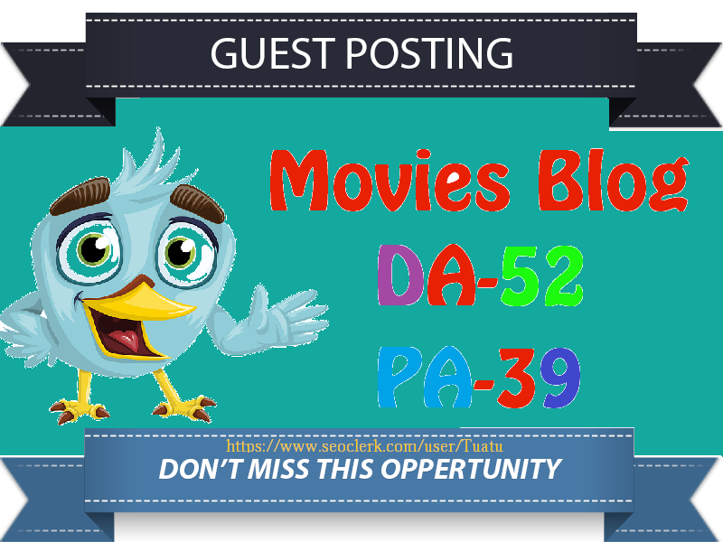 Guest Post On Movie Entertainment Blog DA52