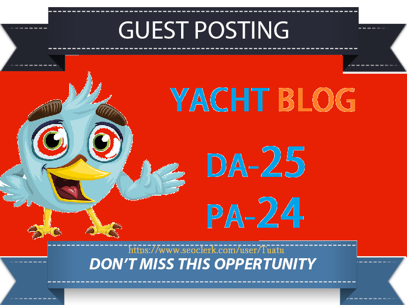 Guest Post On DA25 Yacht Blog Site