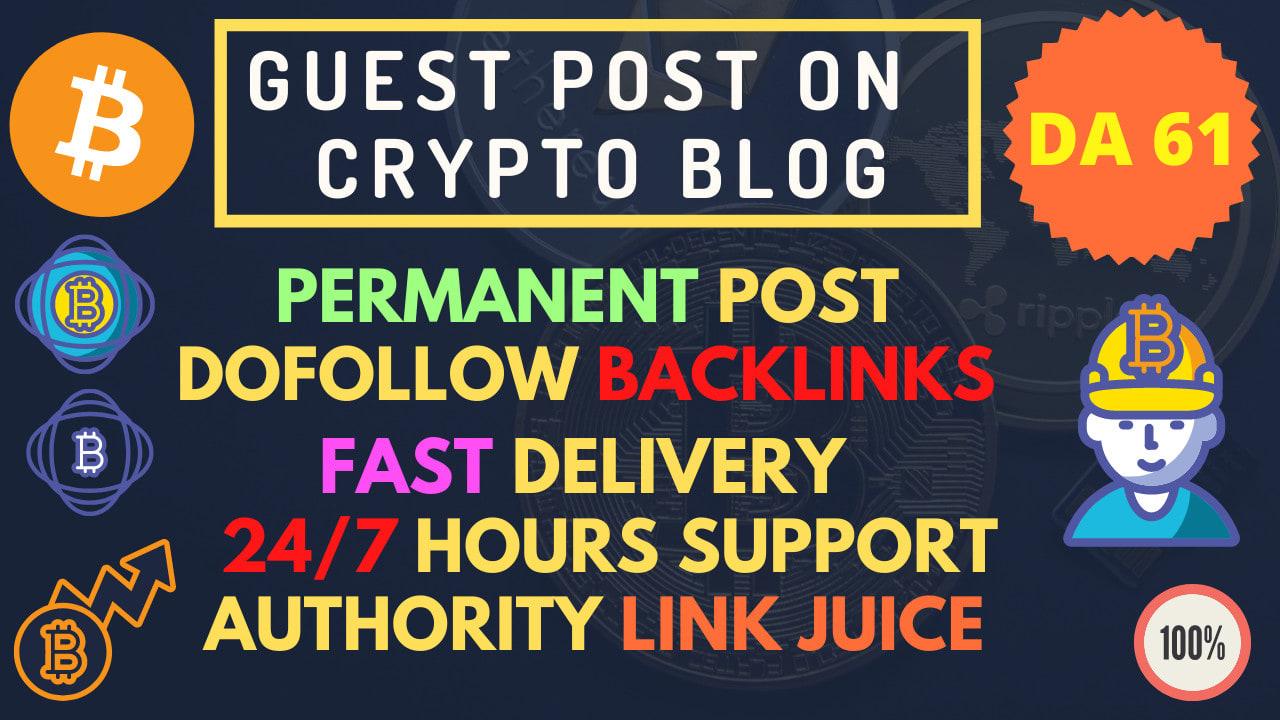publish article on crypto news websites