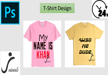 I CAN DESIGN AN AWESOME TYPOGRAPHIC T-SHIRT FOR YOU