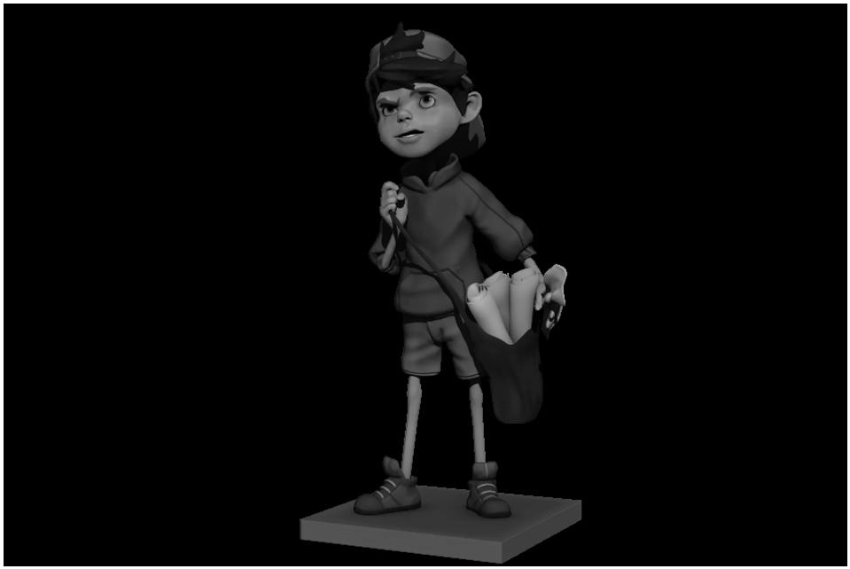 EXCLUSIVE 3D CHARACTER CARTOON, 3D CARTOON ANIMATION CHARACTER