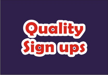 Guaranteed SignUps For All Programs