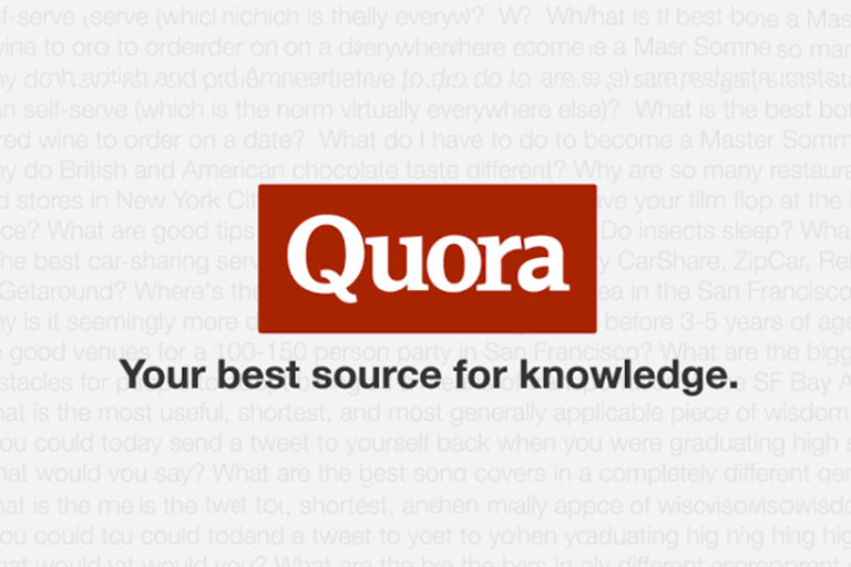 Posting high quality 10 Quora answer with your link