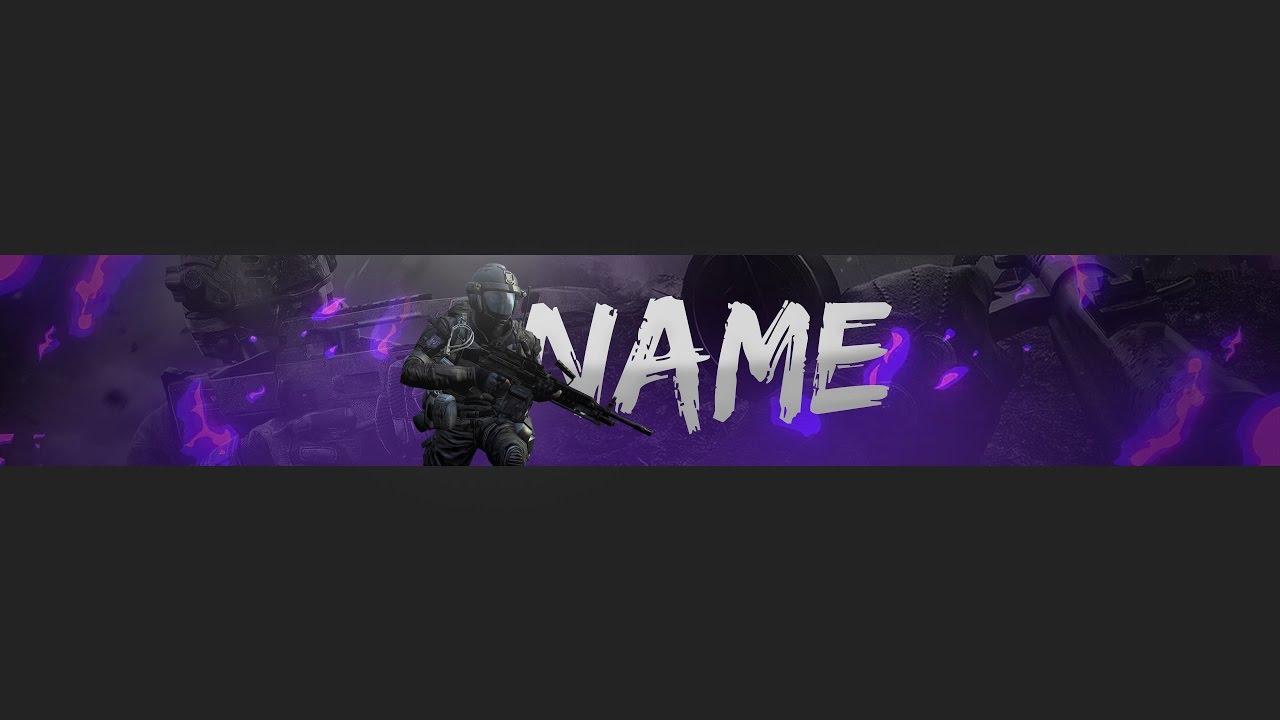 Design a Professional Custom Youtube Banner