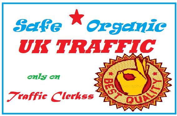 Drive Safe Organic UK Traffic for 7 Days