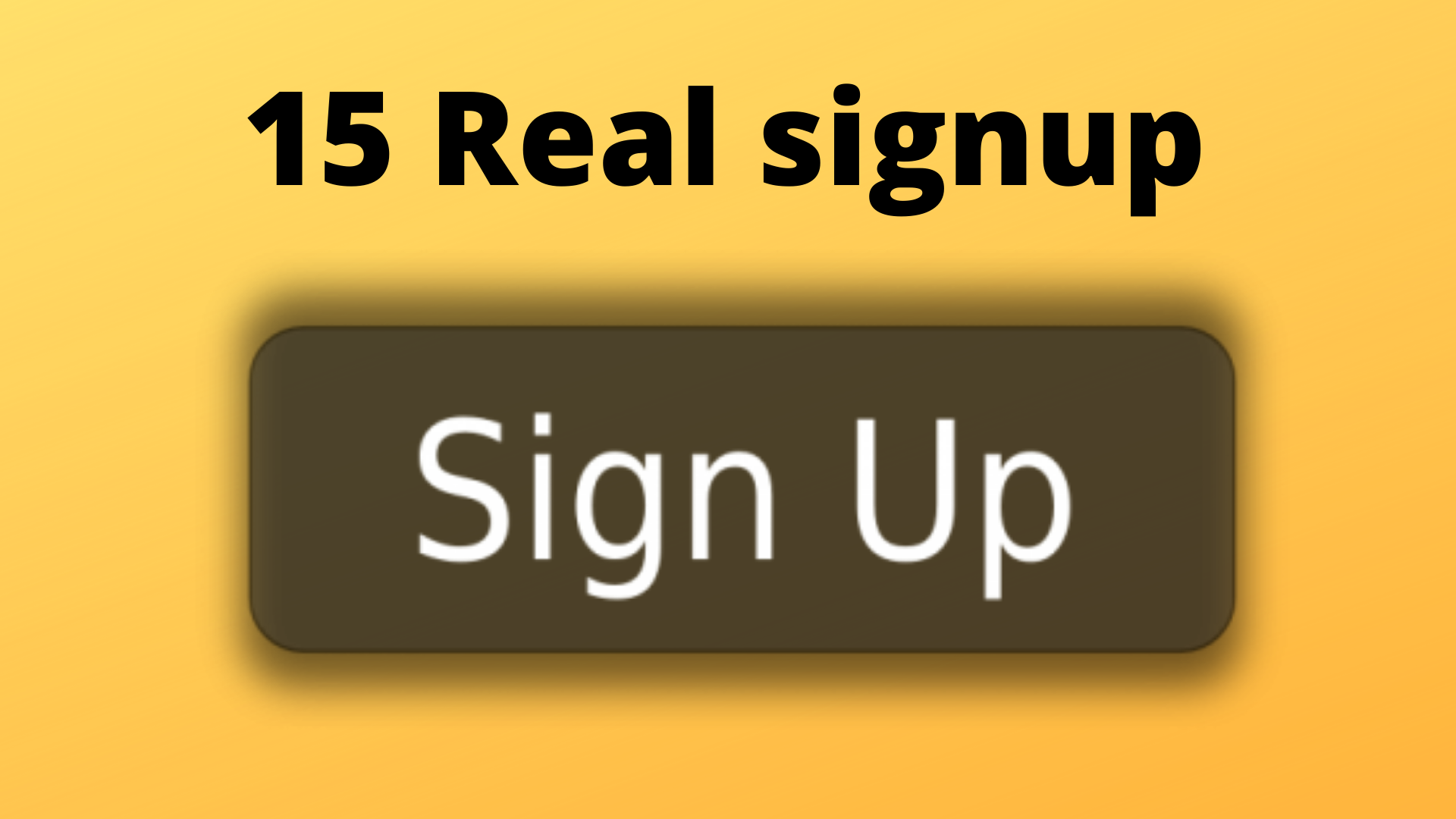 Manually 15 Worldwide registration sign up with real email confirmation