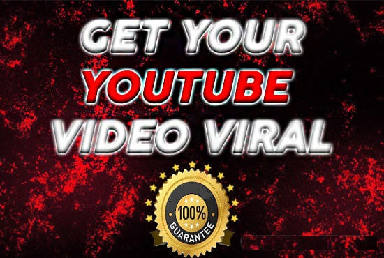 Unlimited YouTube Promotion Organic SEO for more video watchs get 100 Percent Results