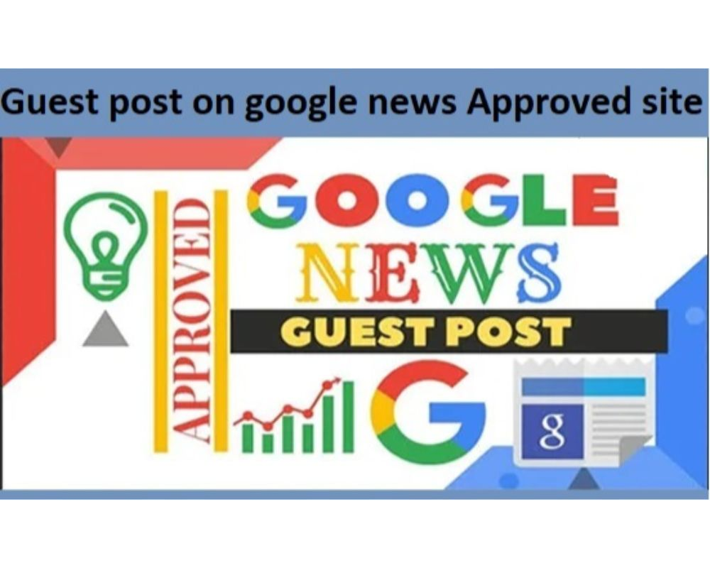 I will guest post on my google approved news site DA 24