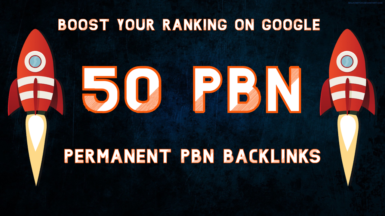 I will build 50 Unique PBN dofollow homepage DA 25+ parmanent backlinks