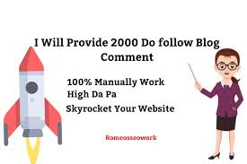 i will do 2000 blog comment do-follow backlinks