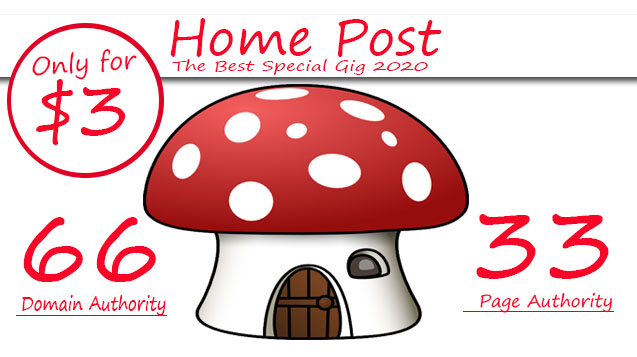 Post Your Guest Post On My DA66 Home Blog