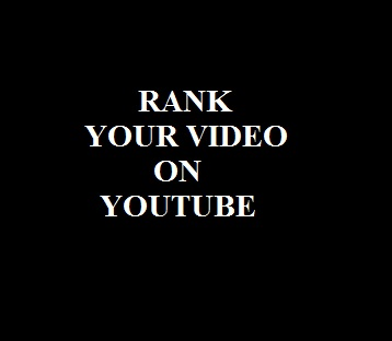 Rank your video to page 1 on Youtube