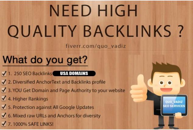 80+ DA backlinks improves SEO in 2020