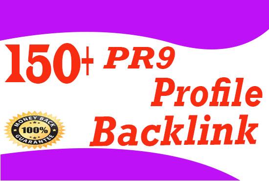 Create Manually 150+ High quality Dofollow Profile Backlinks
